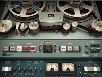 Waves J37 Tape, emulación del primer multipista de Studer