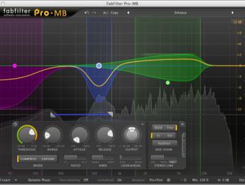 FabFilter lanza Pro-MB, un procesador de dinámica multibanda