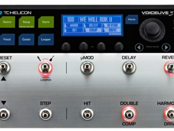 TC Helicon anuncia el procesador vocal VoiceLive 3