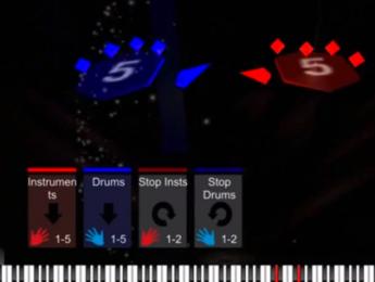 AeroMIDI plantea otra propuesta de control gestual