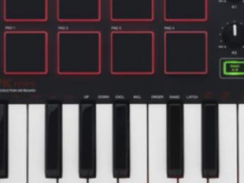 Akai renueva los teclados controladores de la serie MPK