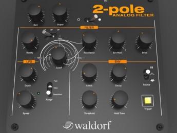 Waldorf 2-Pole, nuevo filtro analógico