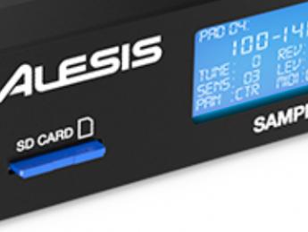 Alesis Sample Rack, nuevo módulo de sonidos de percusión