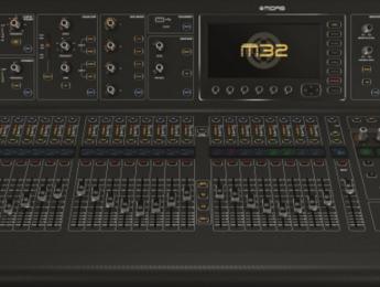 MIDAS M32, nueva mesa para directo y estudio