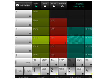 Livkontrol, una app para controlar Ableton Live en Android