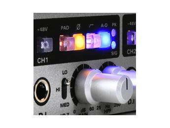 Audient ASP880, previo con 8 canales de micrófono