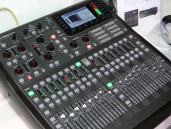 Behringer X32 Producer con el software 2.0