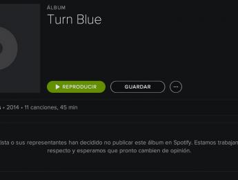Spotify explica por qué algunos discos no están disponibles