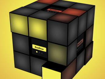808 Cube, secuenciando con el cubo de Rubik