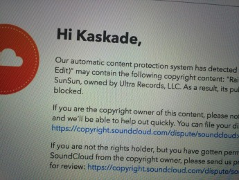 Kaskade, SoundCloud y la rigidez del copyright