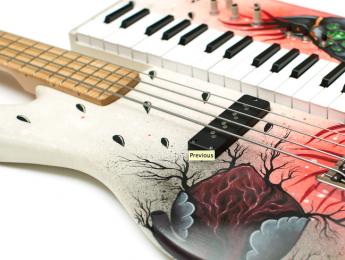 Keybass, un híbrido de bajo eléctrico y sintetizador
