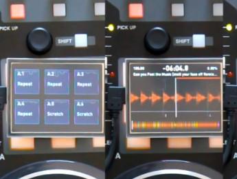 Pantallas táctiles para controladores DJ