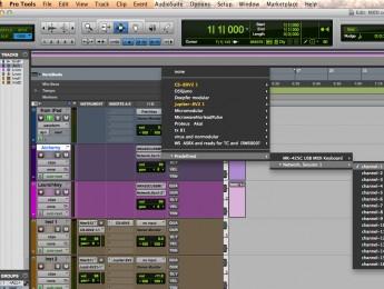 MIDI entre dispositivos Mac OS X y iOS en una misma red local
