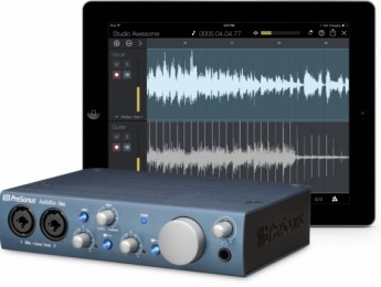 PreSonus lanza una línea de interfaces y apps para iPad