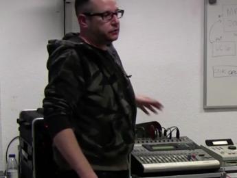 Creación y configuración de un directo de música electrónica, con HD Substance
