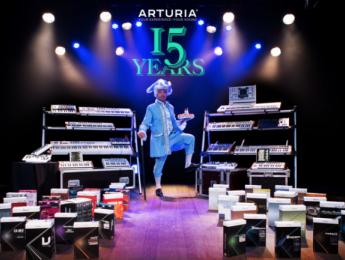 Arturia celebra sus 15 años