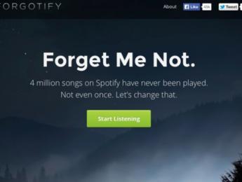 Forgotify, la música olvidada de Spotify