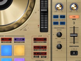 Pioneer DDJ-SZ-N, edición limitada en dorado