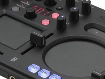 Korg Kaoss DJ, controlador con efectos integrados