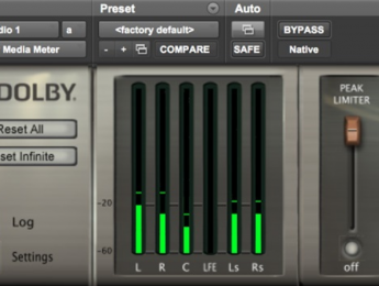 Dolby Media Meter actualizado para EBU R128-2014