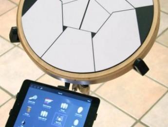 Jambé, controlador de percusión y app en iOS