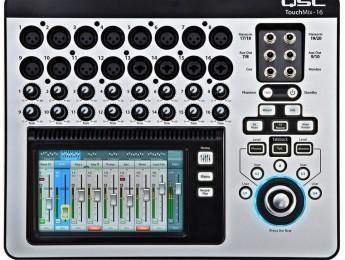 QSC Touchmix, mezcladores digitales compactos