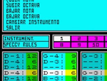 Así se hacía música con el Spectrum