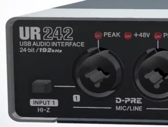 Steinberg UR242, nueva interfaz de audio con efectos DSP y soporte para iPad