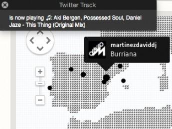 RADR y la difusión de lo que pinchan los DJs