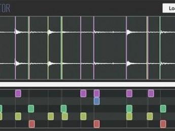 GrooveExtractor convierte a MIDI una batería grabada en audio