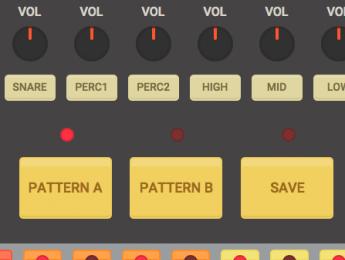 Una caja de ritmos en tu navegador