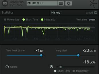 iZotope anuncia RX Loudness Control