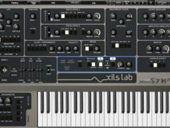 Xils-Lab miniSyn'X, un Elka Synthex en plugin