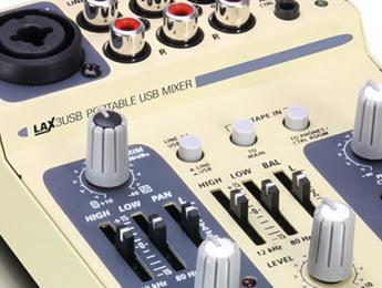 Review de LAX 3 USB, el minimezclador portátil de LD Systems