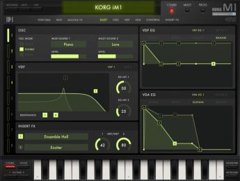 Korg iM1 resucita y mejora otro clásico en el iPad