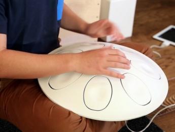 El handpan electrónico Oval llega a Kickstarter