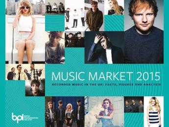 De cada siete discos vendidos en el mundo, uno es de un artista de UK