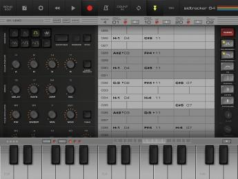 SidTracker64, el sonido del Commodore 64 ahora en iPad