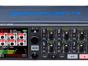 Zoom presenta F8, su más avanzada grabadora de campo