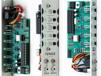 Entrospec Iungo, un mini secuenciador MIDI con control CV