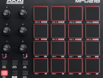 Segunda generación de los controladores MPD de Akai