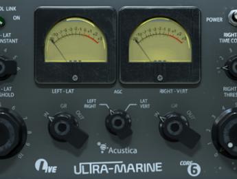 Aqua Ultramarine de Acustica Audio recrea el Fairchild 670 con Nebula