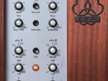 Universal Audio lanza tres nuevos plugins para UAD incluyendo la reverb AKG BX 20