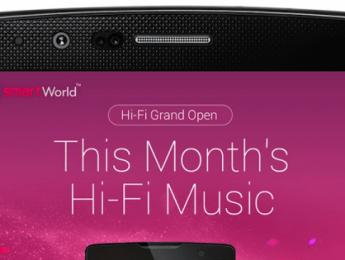 No todo es streaming: LG lanzará una tienda de música HD
