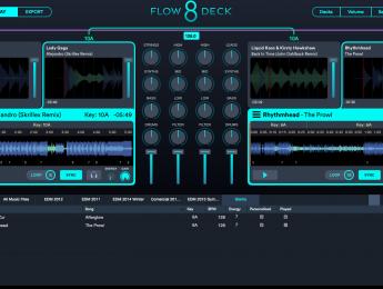Flow de Mixed in Key evoluciona a Flow 8 Deck