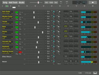 MultitrackStudio, el primer DAW en soportar plugins AudioUnit en iOS