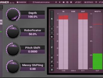 Melda MTransformer, toda una lección de transformismo tono/frecuencia