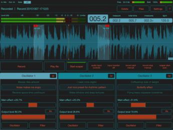 FieldScaper, una herramienta iOS para grabar y manipular texturas sonoras