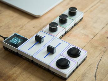 Palette, controlador modular para imagen y sonido
