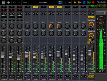 Ya disponible Auria Pro, la nueva versión del DAW de iOS